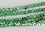CCO01 15.5 inches 4mm round natural chrysotine beads wholesale