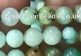 CCS865 15.5 inches 6mm round chrysocolla gemstone beads