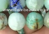 CCS869 15.5 inches 14mm round chrysocolla gemstone beads