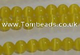 CCT1209 15 inches 4mm round cats eye beads wholesale