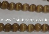 CCT1216 15 inches 4mm round cats eye beads wholesale