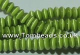 CCT212 15 inches 2*4mm rondelle cats eye beads wholesale
