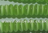 CCT263 15 inches 3*7mm rondelle cats eye beads wholesale
