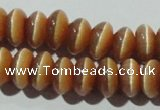 CCT281 15 inches 5*8mm rondelle cats eye beads wholesale
