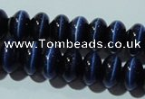 CCT292 15 inches 5*8mm rondelle cats eye beads wholesale