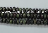 CDB233 15.5 inches 4*6mm rondelle natural dragon blood jasper beads