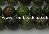 CDB304 15.5 inches 12mm round dragon blood jasper beads wholesale
