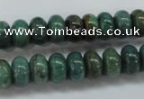 CDB39 15.5 inches 6*10mm rondelle new dragon blood jasper beads