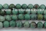 CDB41 15.5 inches 8mm round new dragon blood jasper beads