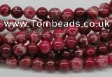 CDE02 15.5 inches 6mm round dyed sea sediment jasper beads