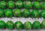 CDE2221 15.5 inches 6mm round dyed sea sediment jasper beads