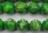 CDE2224 15.5 inches 12mm round dyed sea sediment jasper beads