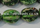 CDI966 15.5 inches 18*25mm star fruit shaped dyed imperial jasper beads