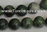 CDJ16 15.5 inches 14mm round Canadian jade beads wholesale