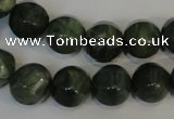 CDJ20 15.5 inches 12mm pumpkin Canadian jade beads wholesale