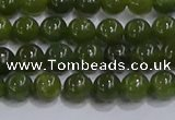 CDJ271 15.5 inches 6mm round Canadian jade beads wholesale