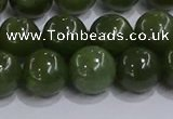 CDJ274 15.5 inches 12mm round Canadian jade beads wholesale