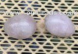 CDN330 35*50mm egg-shaped rose quartz decorations wholesale