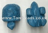 CDN455 38*55*28mm turtle imitation turquoise decorations wholesale