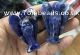 CDN495 35*50mm angel sodalite decorations wholesale