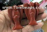 CDN498 35*50mm angel red jasper decorations wholesale