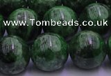 CDP55 15.5 inches 11mm round A grade diopside gemstone beads