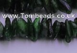 CDP71 15.5 inches 5*10mm - 8*15mm diopside chips gemstone beads