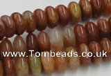 CDQ17 15.5 inches 3*6mm rondelle natural red quartz beads wholesale