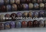 CDS276 15 inches 3*5mm rondelle dyed serpentine jasper beads