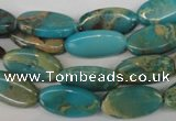 CDS36 15.5 inches 9*17mm marquise dyed serpentine jasper beads