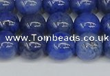 CDU343 15.5 inches 10mm round blue dumortierite beads wholesale
