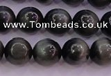 CEE504 15.5 inches 12mm round AAA grade green eagle eye jasper beads