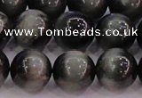 CEE506 15.5 inches 16mm round AAA grade green eagle eye jasper beads