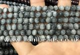 CEE515 15.5 inches 6mm round eagle eye jasper beads wholesale