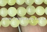 CEJ350 15.5 inches 4mm round lemon jade beads wholesale