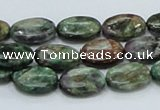 CEM12 15.5 inches 10*14mm oval emerald gemstone beads wholesale