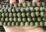 CEP203 15.5 inches 10mm round epidote gemstone beads wholesale
