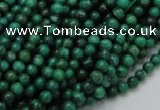 CFA65 15.5 inches 4mm round green chrysanthemum agate beads