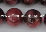 CFE11 15.5 inches 14mm round natural Brazilian fowlerite beads