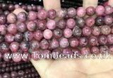 CFE21 15.5 inches 9mm round natural fowlerite beads wholesale