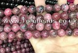 CFE23 15.5 inches 12mm round natural fowlerite beads wholesale