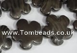 CFG682 15.5 inches 20mm carved flower grain stone beads