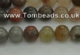 CFJ201 15.5 inches 6mm round fancy jasper beads wholesale