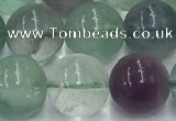 CFL1137 15.5 inches 10mm round fluorite beads wholesale