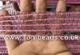 CFL1496 15.5 inches 6mm round purple fluorite gemstone beads