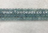 CFL1515 15.5 inches 6mm round blue fluorite gemstone beads