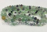 CFL930 15.5 inches 6mm - 12mm round fluorite graduated beads