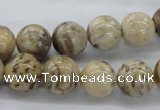 CFS04 15.5 inches 14mm round natural feldspar gemstone beads