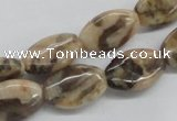 CFS09 15.5 inches 13*18mm oval natural feldspar gemstone beads