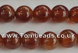 CGA511 15.5 inches 6mm round AA grade yellow red garnet beads